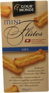 Gourmonde Mini Flutes Salz 100g – Bild 1