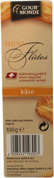 Gourmonde Mini Flutes Käse 100g – Bild 2