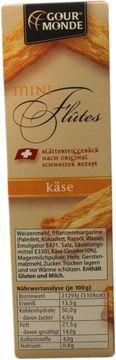 Gourmonde Mini Flutes Käse 100g – Bild 3