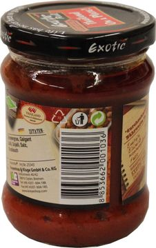 Exotic Food Curry Paste 220g – Bild 2