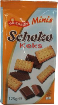 Griesson Schoko Keks Minis 125g – Bild 2