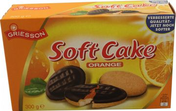 Griesson Soft Cake Orange 300g – Bild 1