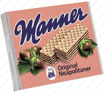 Manner Waffeln Neapolitaner 75g x 12 Riegel