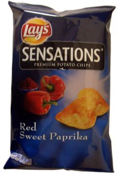 Lays Sensations Red Sweet Paprika 150g
