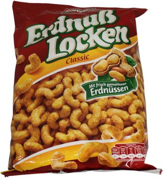 Lorenz Erdnuss Locken 250g – Bild 1