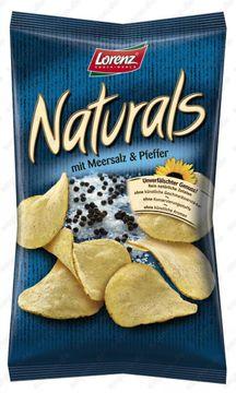 Naturals Meersalz & Pfeffer 110g – Bild 1