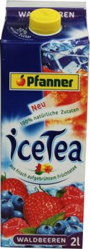 Pfanner Ice Tea Waldbeeren 2L