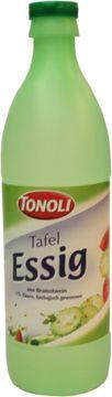Tonoli Tafel Essig 5% 0,5L