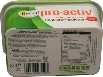 Becel pro active Diät-Halbfettmargarine 500g – Bild 2