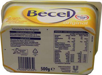 Becel Fettreduzierte Diät-Margarine 500g – Bild 2