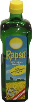 Rapso Reines Rapsöl 0,75L – Bild 1