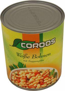 Coroos Weiße Bohen mit Suppengrün 530g – Bild 1