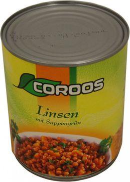 Coroos Linsen mit Suppengrün 530g – Bild 1
