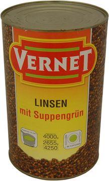 Vernet Linsen mit Suppengrün 2,655kg