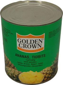 Golden Crown Ananas Stücke 1,84kg