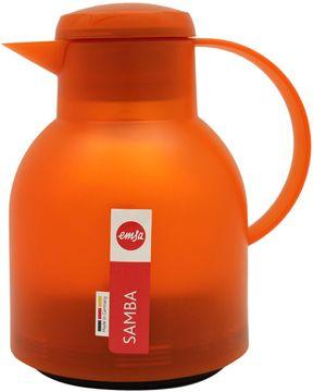 Emsa Isolierkanne Samba orange Transzulent 1L