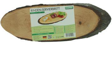 Kesper Rinden Servierbrett 40-49 x 17 x 1,5 cm