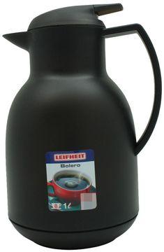 Leifheit Isolierkanne Bolero schwarz 1L
