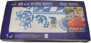 Duni 20 Dunicel Mitteldecken Bayernblau 84cm x 84cm – Bild 2