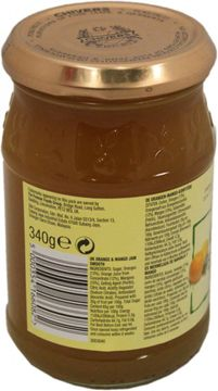 Chivers Orange Mango Konfitüre Smooth 340g – Bild 2