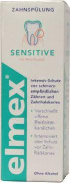 Elmex Sensitive Zahnspülung 400ml – Bild 3