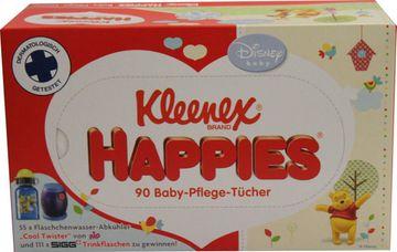 Kleenex Happies 90 Baby-Pflege-Tücher – Bild 1