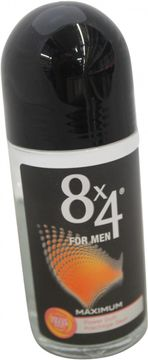 8x4 Deo Maximum for Men Roll On 50ml
