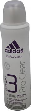 Adidas Action3 Women Deospray Pro Clear 150ml
