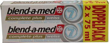 Blend-a-med Complete Pluss weiss 2 x 75ml – Bild 1