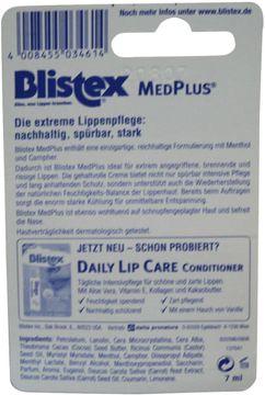 Blistex Extreme Care Med Plus Lippenpflege 7ml – Bild 2