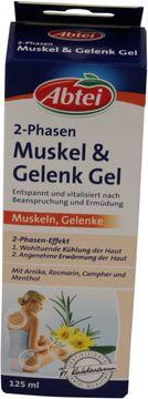 Abtei 2-Phasen Muskel + Gelenk Gel 125ml – Bild 1