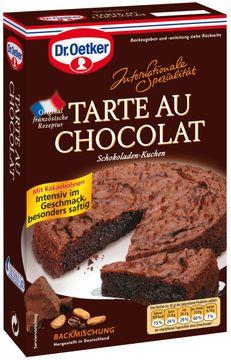 Dr. Oetker Tarte au Chocolat Backmischung 470g – Bild 1