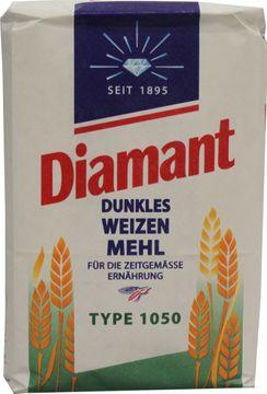 Diamant Dunkles Weizen Mehl Type 1050 1kg – Bild 1