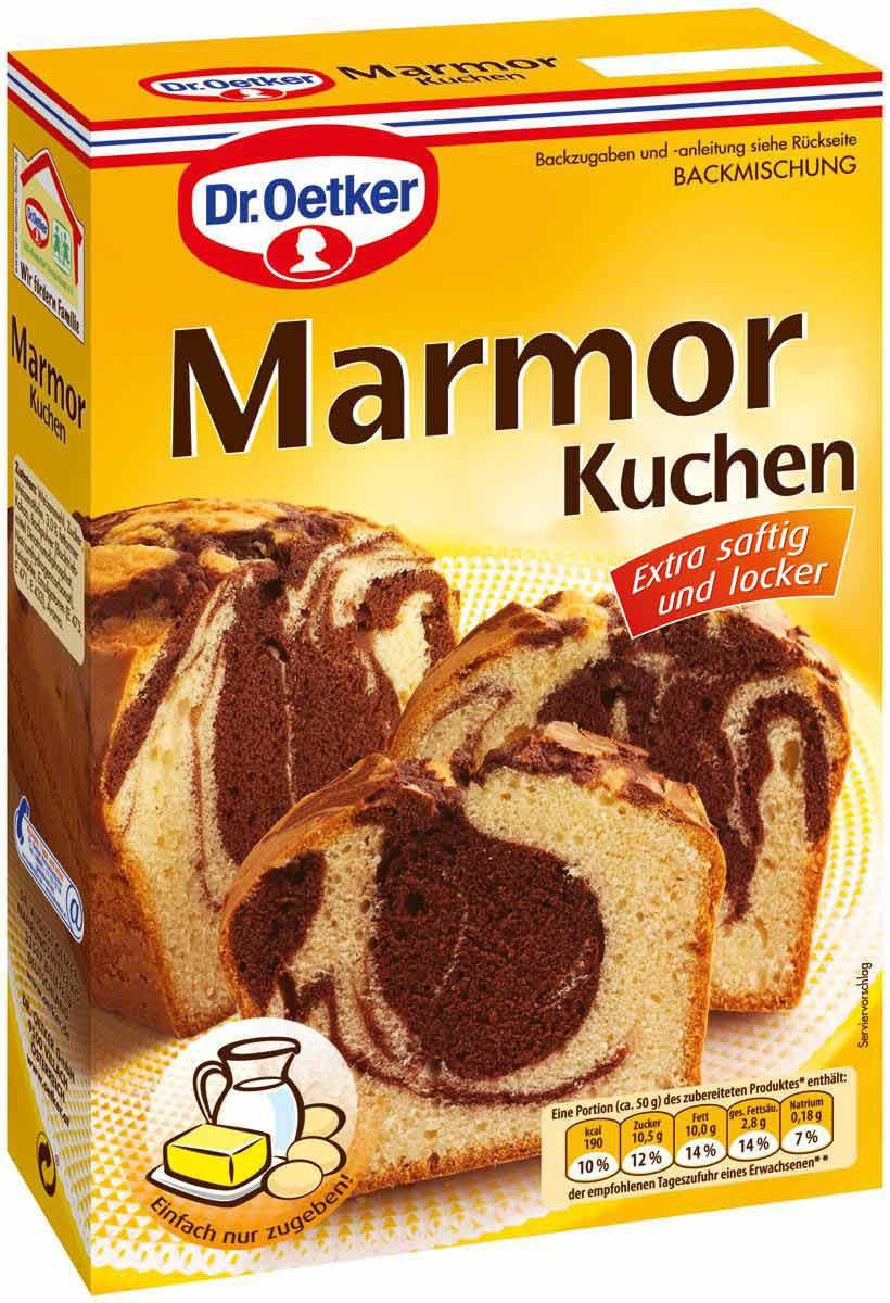 Dr Oetker Marmor Kuchen Backmischung 400g Feinkost Lebensmittel