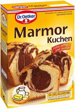 Dr. Oetker Marmor Kuchen Backmischung 400g – Bild 1