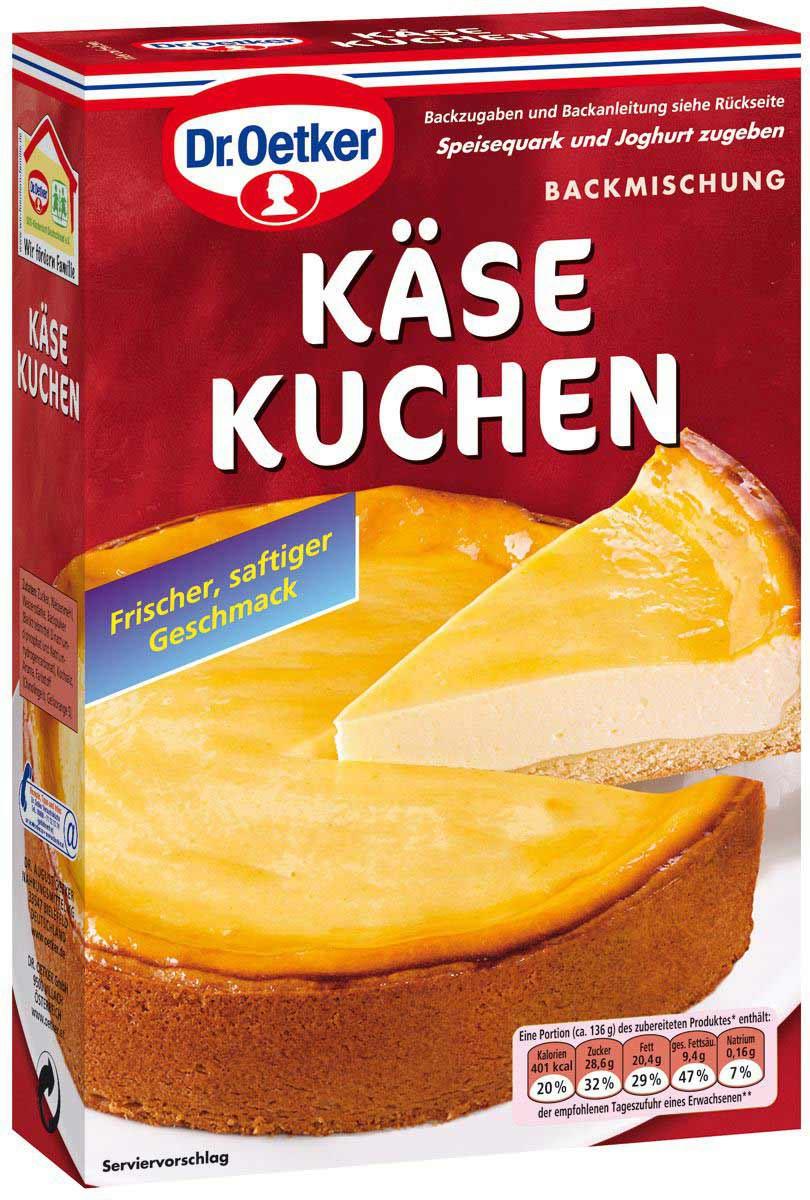 Dr Oetker Kase Kuchen Backmischung 570g Feinkost Lebensmittel