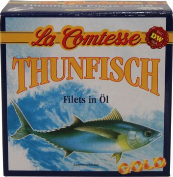 La Comtesse Thunfisch Filets in Öl 150g – Bild 1