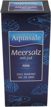 Aquasale Meersalz mit Jod fein 500g – Bild 1