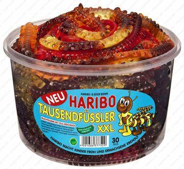 Haribo Tausendfüssler XXL 30 Stück 1,2kg – Bild 1