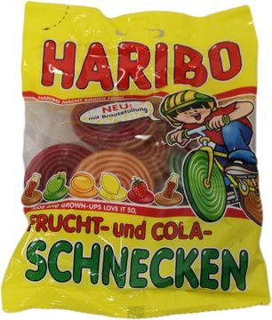 Haribo Frucht- und Cola- Schnecken 175g – Bild 2
