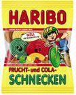 Haribo Frucht- und Cola- Schnecken 175g