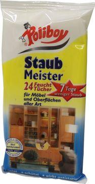 Poliboy Staub Meister 24 Feucht-Tücher – Bild 1