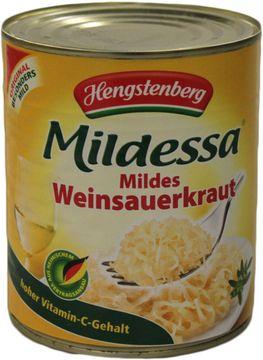 Hengstenberg Mildessa Mildes Weinsauerkraut 770g – Bild 1