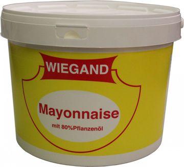Wiegand Mayonnaise mit 80% Pflanzenöl 8L – Bild 1