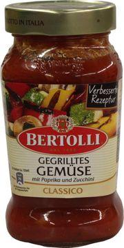Bertolli Classico Tomaten Sauce mit gegrilltes Gemüse 400g – Bild 1