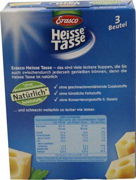 Erasco Heisse Tasse Käse-Creme ergibt 3 x 0,15L – Bild 2