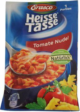 Erasco Heisse Tasse Tomate Nudel 1 Portion ergibt 200ml