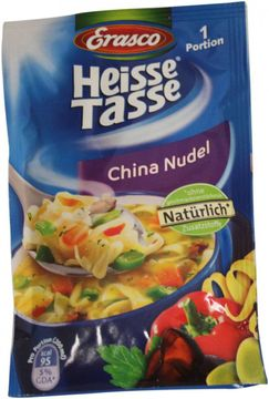 Erasco Heisse Tasse China Nudel 1 Portion ergibt 200ml