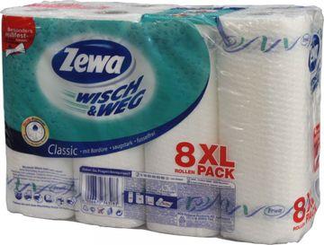 Zewa Wisch & Weg Classic 8 XL Rollen Pack 8 x 45 Blatt – Bild 1