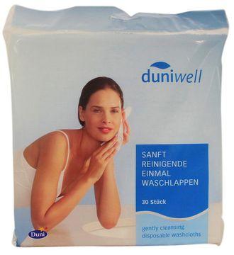 Duniwell Einmal Waschlappen 20x20cm 6-lagig 30 Stück
